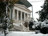 National Library in snow